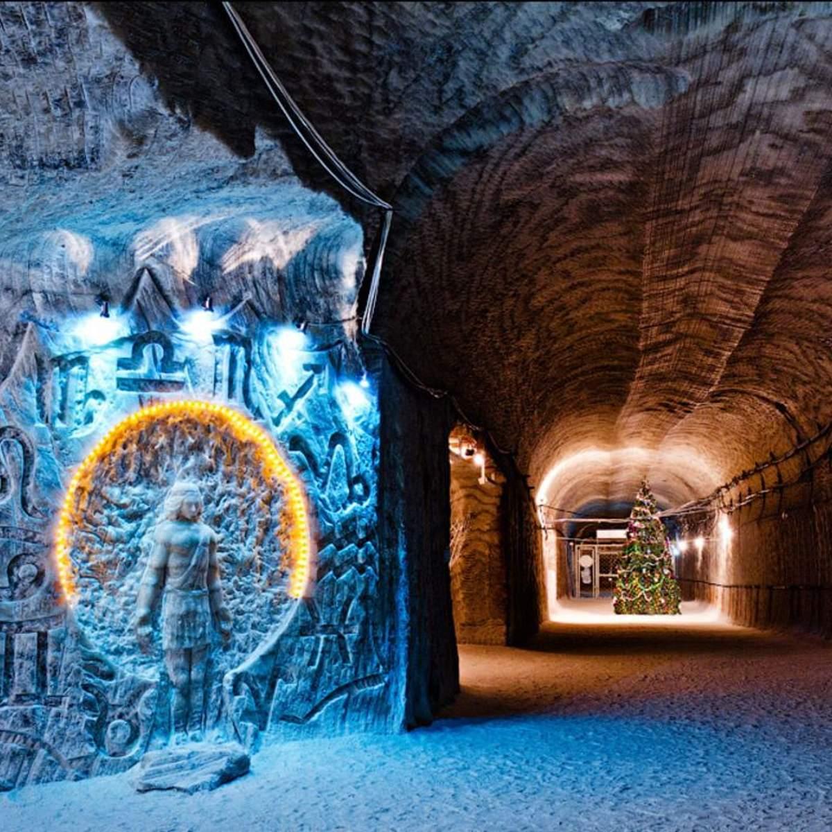 Соледарская пещера, которая поражает своими масштабами