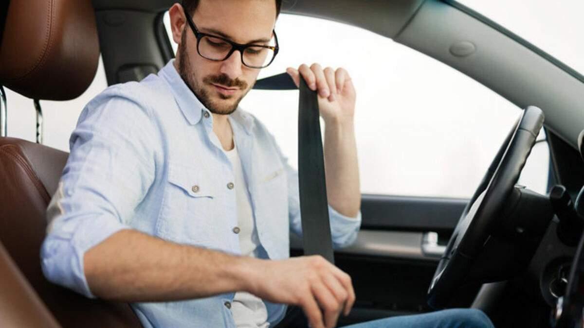 Розвінчування міфів щодо пристебнутого паска безпеки в авто