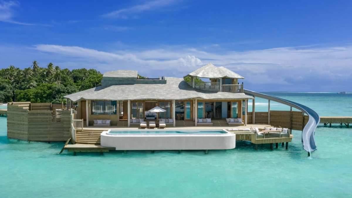 Найбільші надводні вілли на Мальдівах – розкішні фото