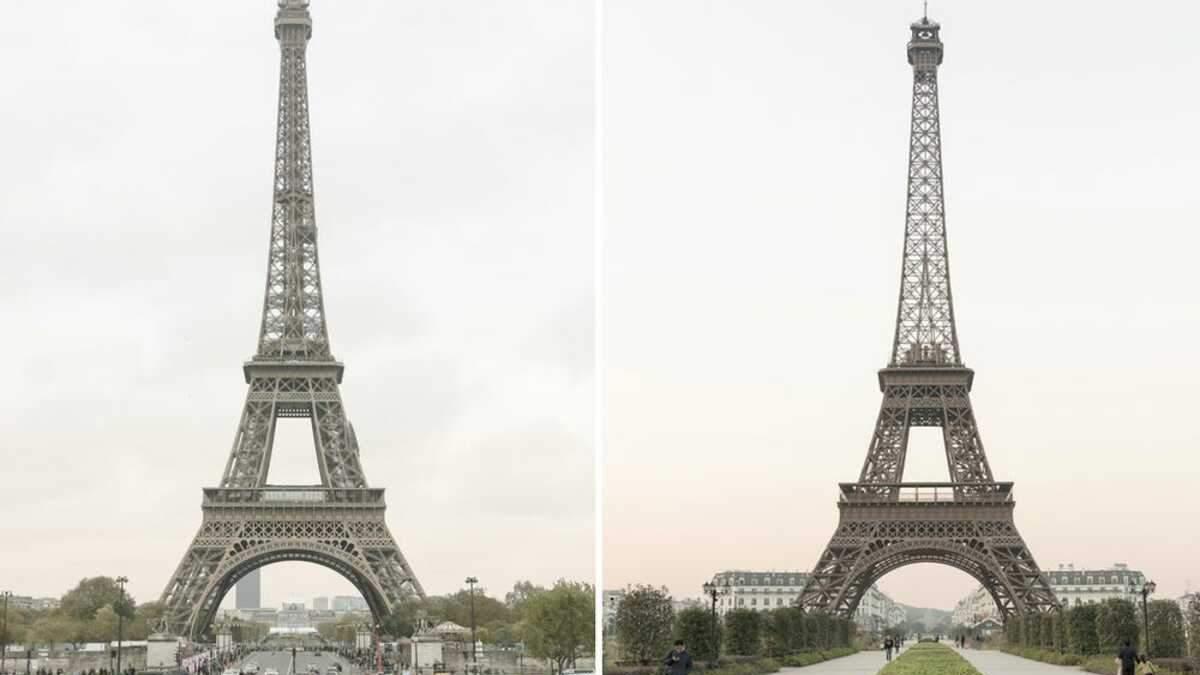 У Китаї є фейковий Париж – фотопорівняння