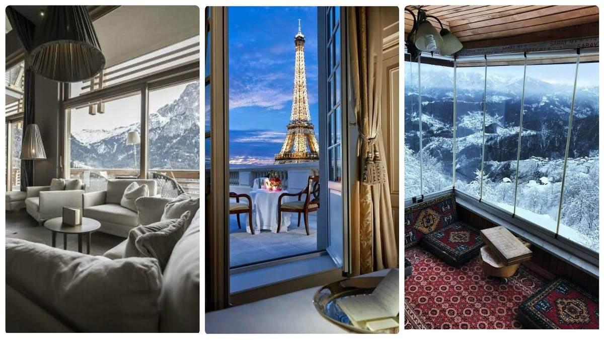Готельні номери з найкращими у світі видами з вікна