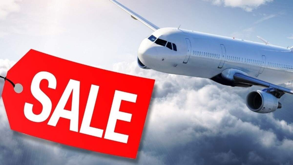 Розпродаж авіаквитків на 2021