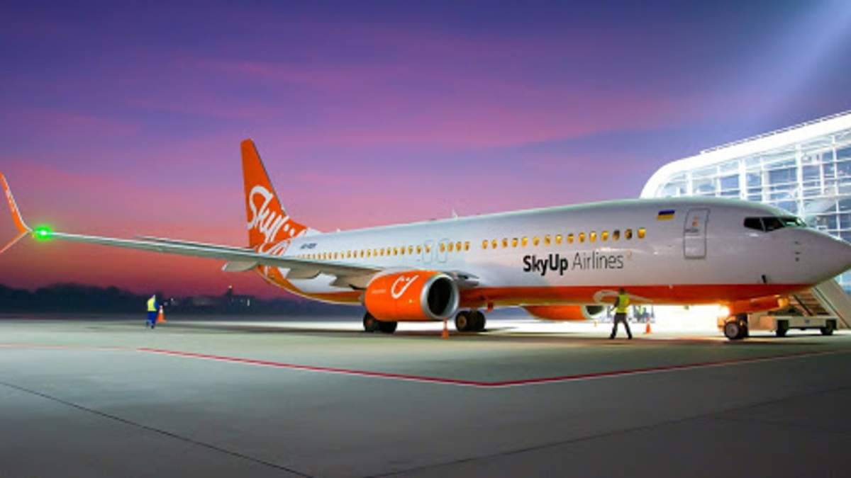 Рейси Sky Up до Чехії