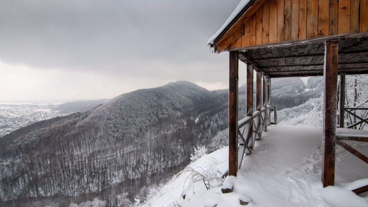 Вершина Острый у Косово: находка для туристов