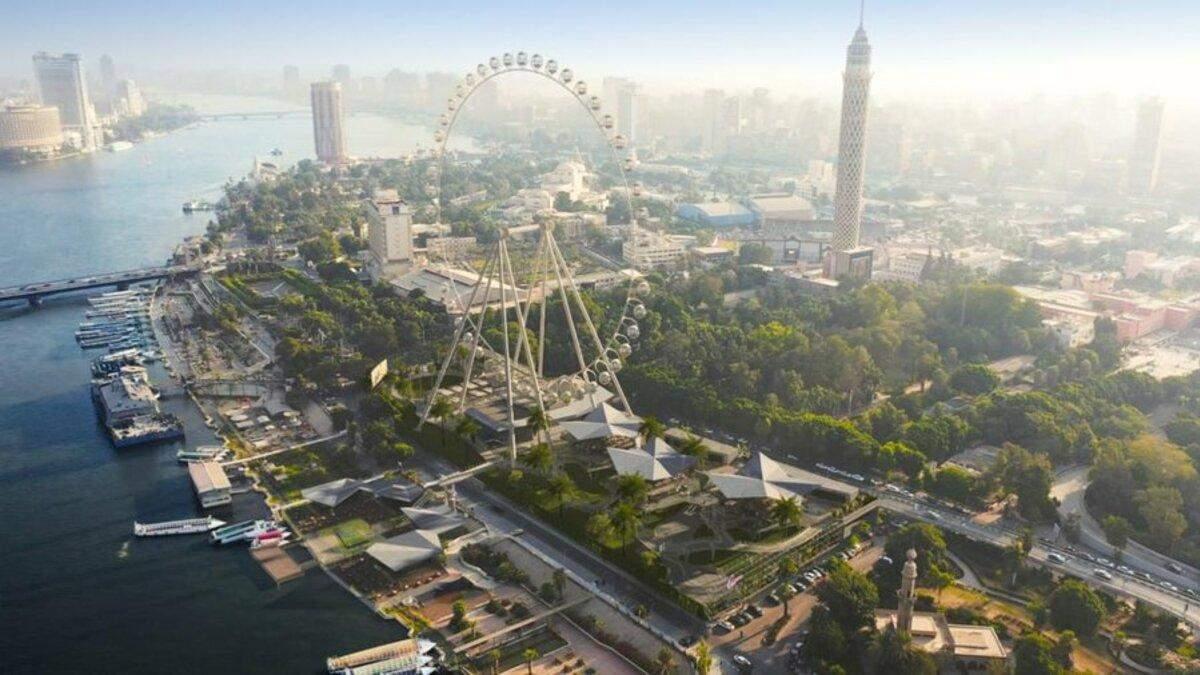 Новий атракціон для туристів: у Єгипті збудують найбільше в Африці колесо огляду – фото