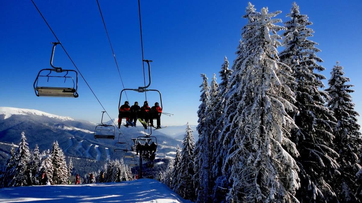 В Украине начнется строительство двух горнолыжных курортов