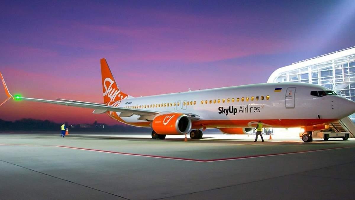 SkyUp изменил условия онлайн-регистрации и выбора мест в самолете