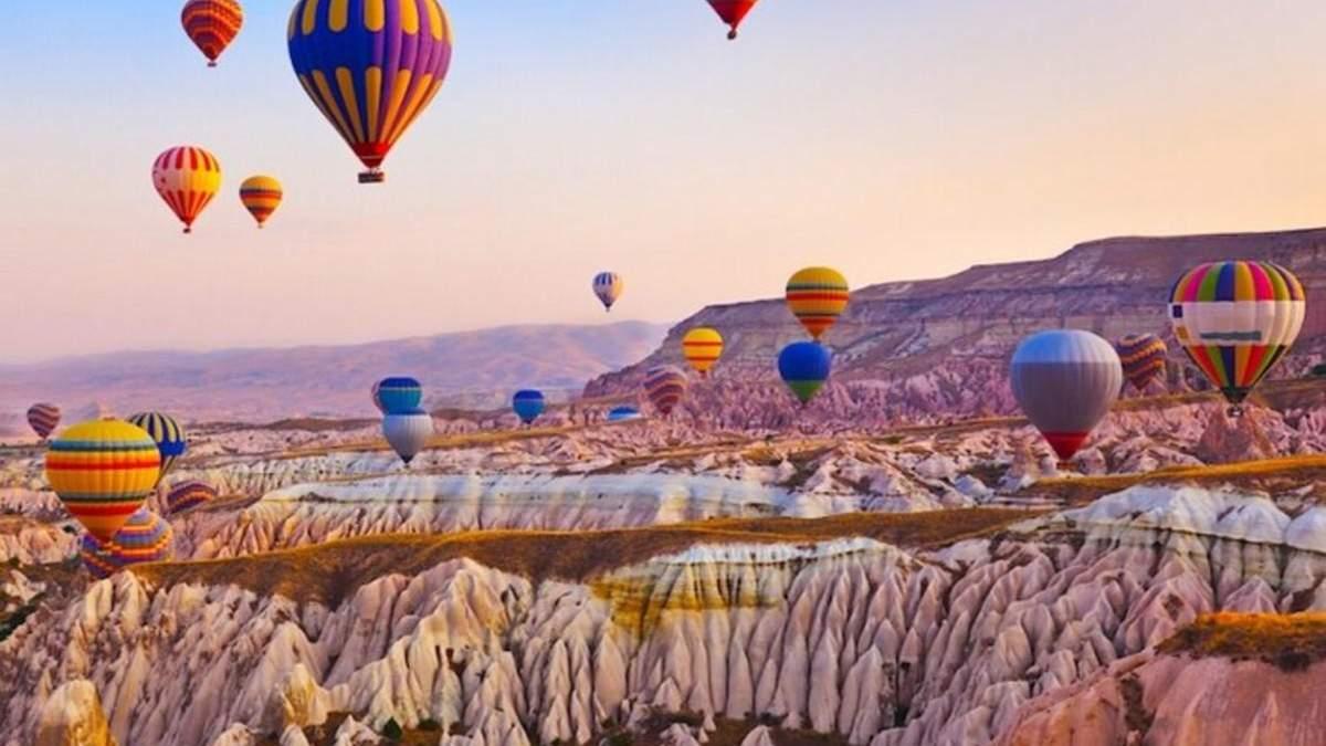 На повітряні кулі в турецьку Каппадокію: МАУ запускає прямі рейси з України