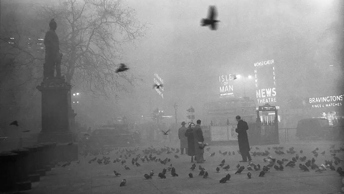 Великий смог 1952 года: как густой туман в Лондоне привел к коллапсу и человеческим жертвам