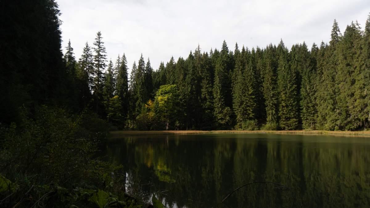 Гірське Око – озеро, яке не має дна