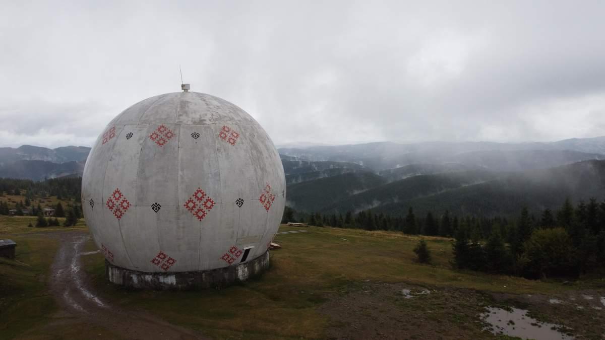 """Путешествие Буковинскими Карпатами: """"Памир"""" – секретная радиолокационная станция"""