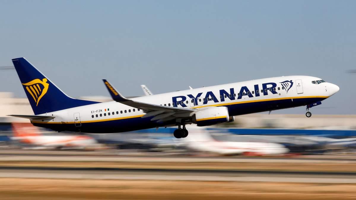 Ryanair запускает 18 маршрутов из Украины: список