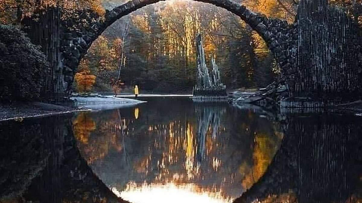 Мистический мост Ракотцбрюке в Германии, построенный дьяволом: удивительные фото