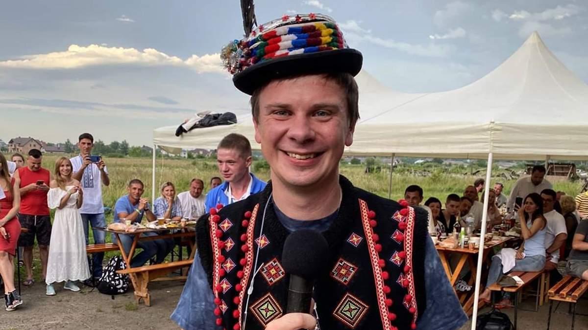 Дмитрий Комаров готовит новый проект о путешествиях по Украине