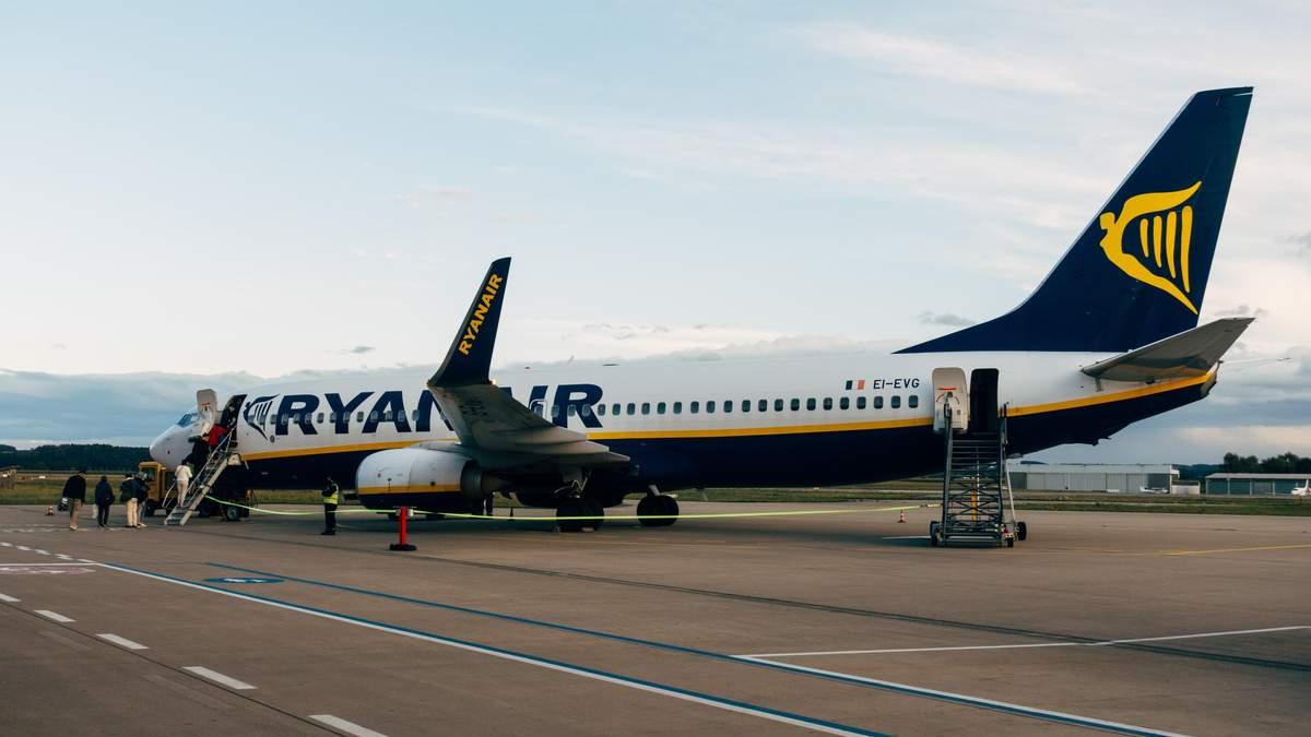 Рейсы Ryanair из Львова