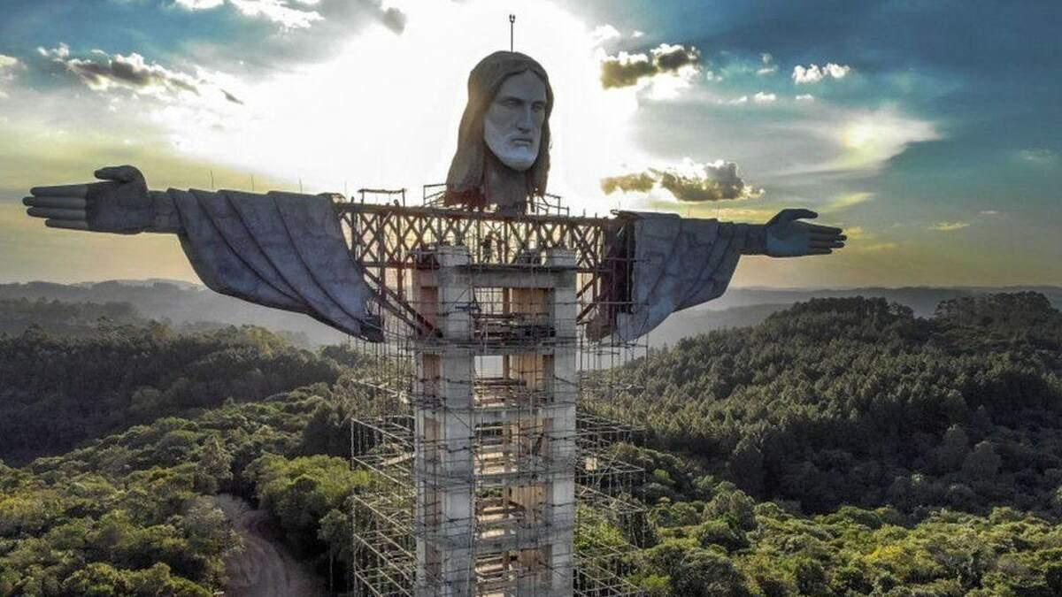 В Бразилии строят новую статую Христа – выше, чем в Рио-де-Жанейро: фото