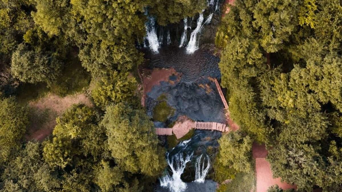 Джуринский (Червоноградский) водопад - одно из самых интересных мест Тернопольщины