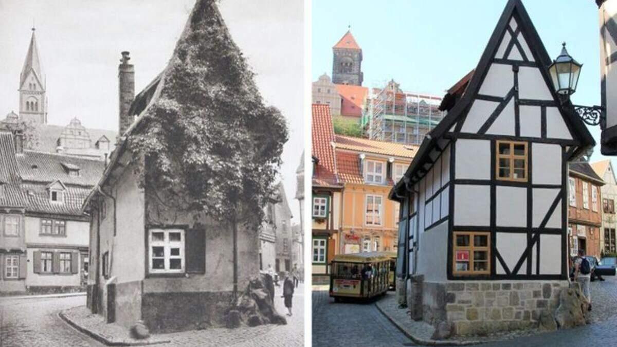 Цікаві місця Європи з різницею у 100 років