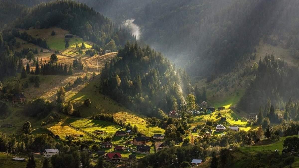 Дземброня – самое высокогорное село украинских Карпат