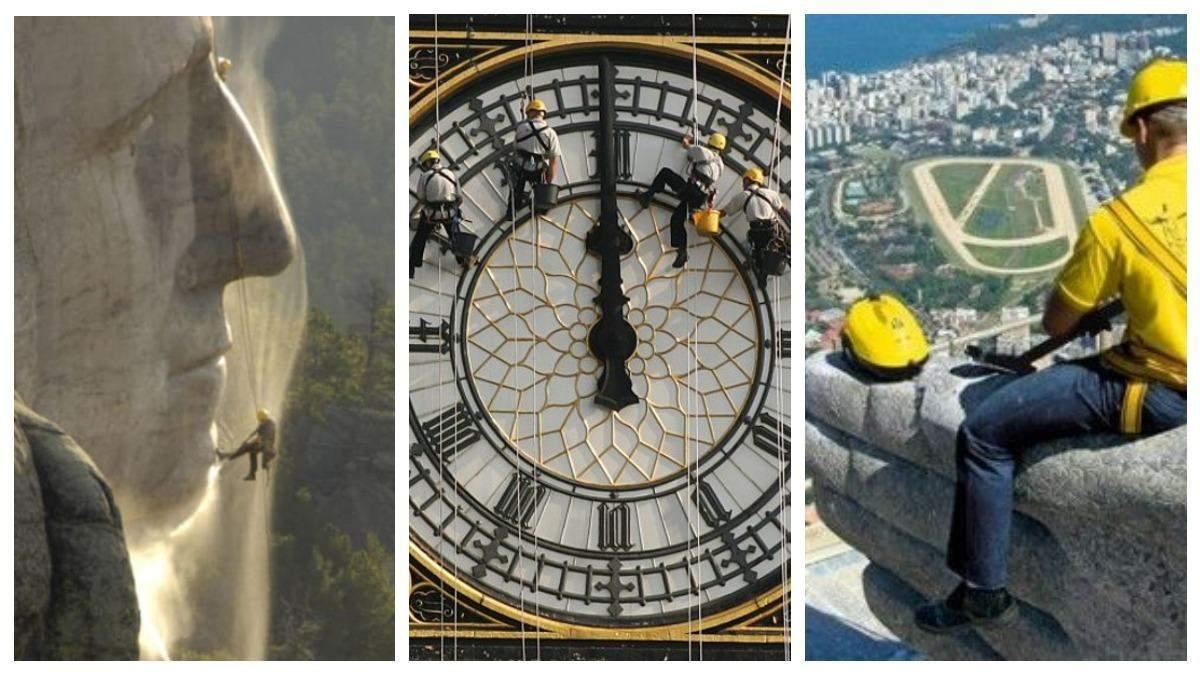 Як чистять 8 найвідоміших пам'яток світу