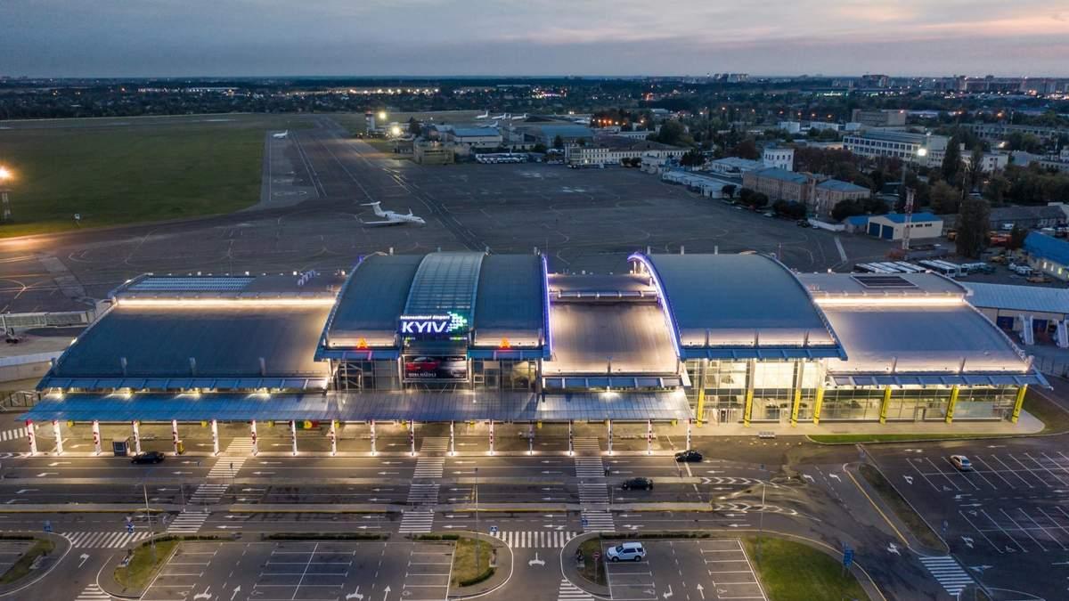 Аеропорт Київ закриють на 8 місяців