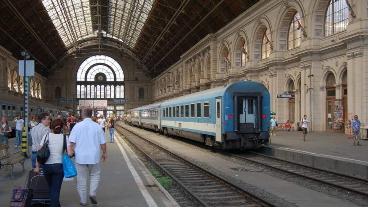 Укрзалізниця відновлює перші міжнародні маршрути в Угорщину та Австрію