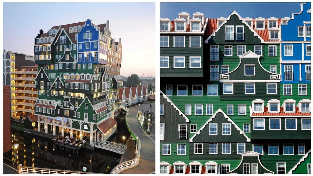 Красочный и хаотичный отель в Нидерландах фото