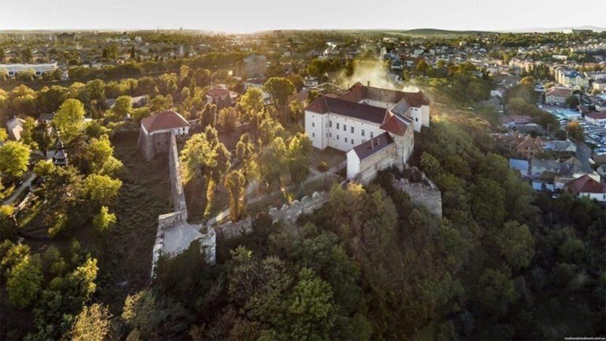 Ужгородський замок створив акаунт в TikTok