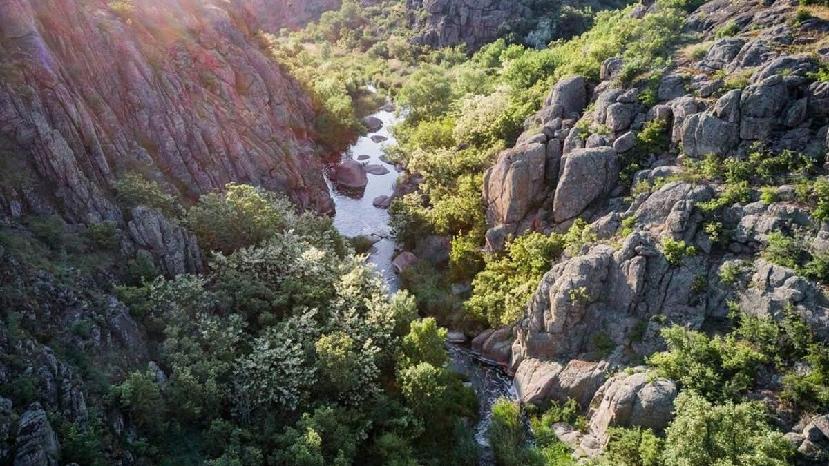 Живописные каньоны Украины, на которых должен побывать каждый турист
