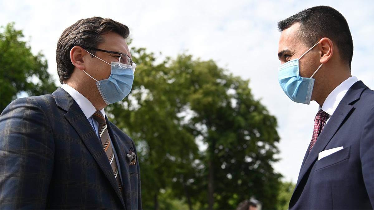 Кулеба попросил правительство Италии открыть границы для украинцев