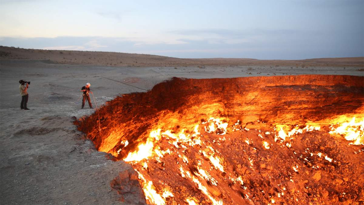 Брама пекла в Каракумській пустелі: як СРСР створила секретний кратер