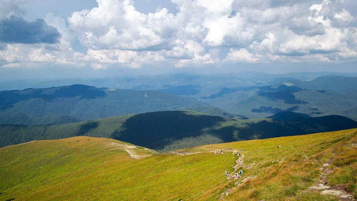 Українські Карпати визнали одним із кращих гірських маршрутів Європи