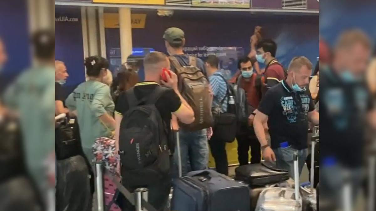 Самолет МАУ забыл своих пассажиров в Борисполе на рейсе в Турцию