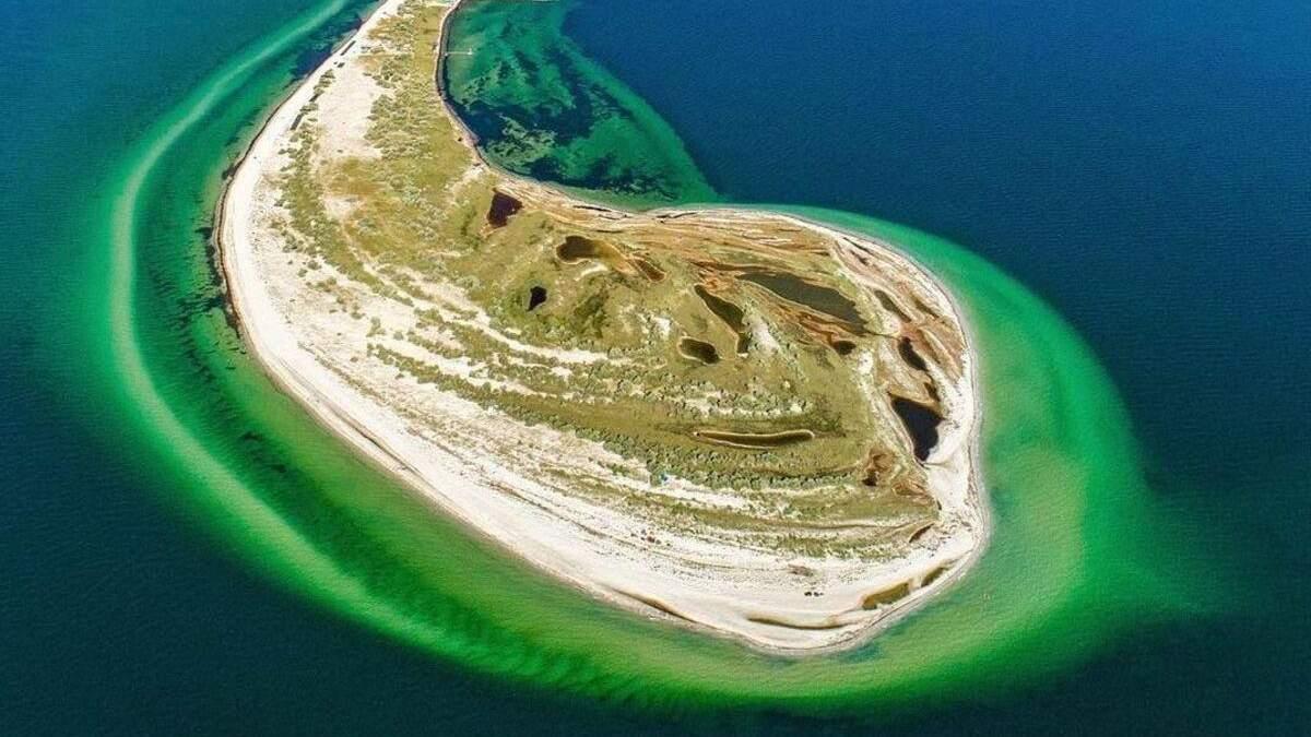 Лучшие острова Украины для летнего отдыха