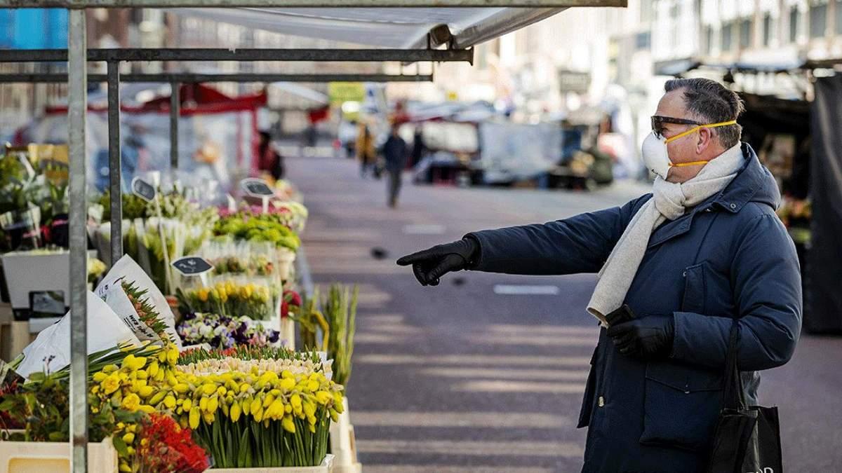 Нидерланды усилили карантин из-за распространения штамма Дельта