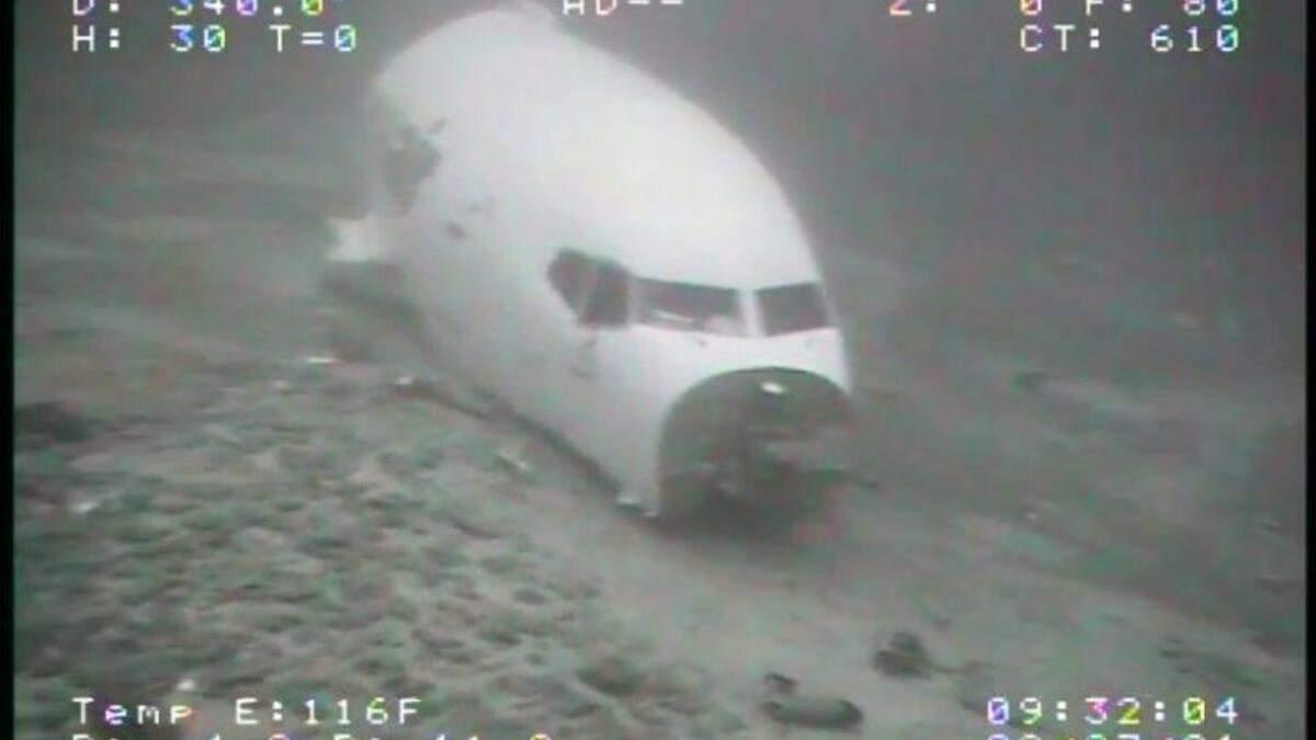 Грузовой Boeing 737 нашли на дне Тихого океана