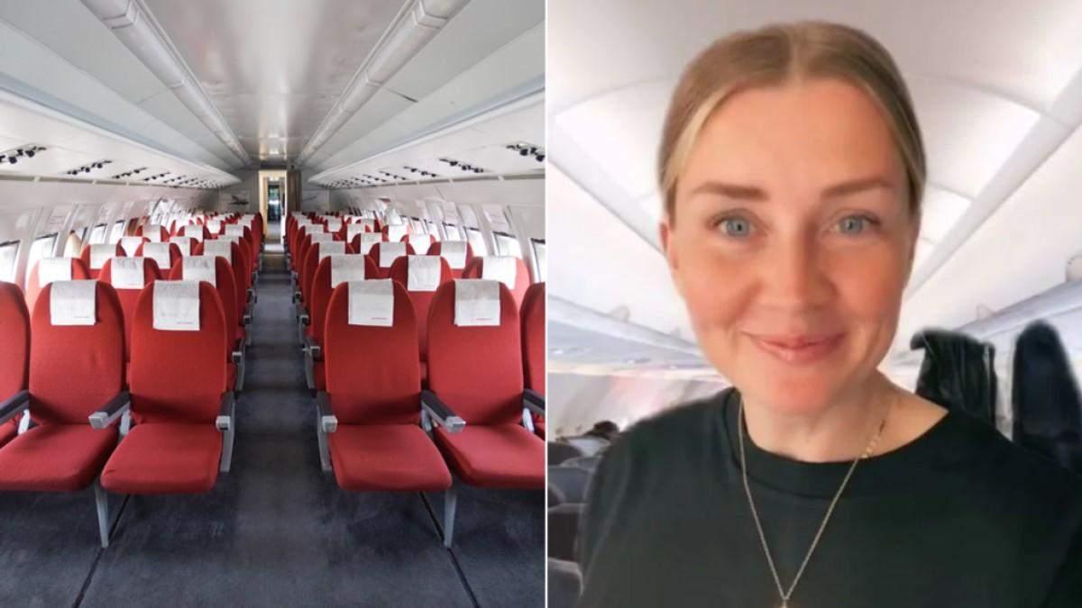 Стюардеса закликала пасажирів не робити декілька помилок на борту літака