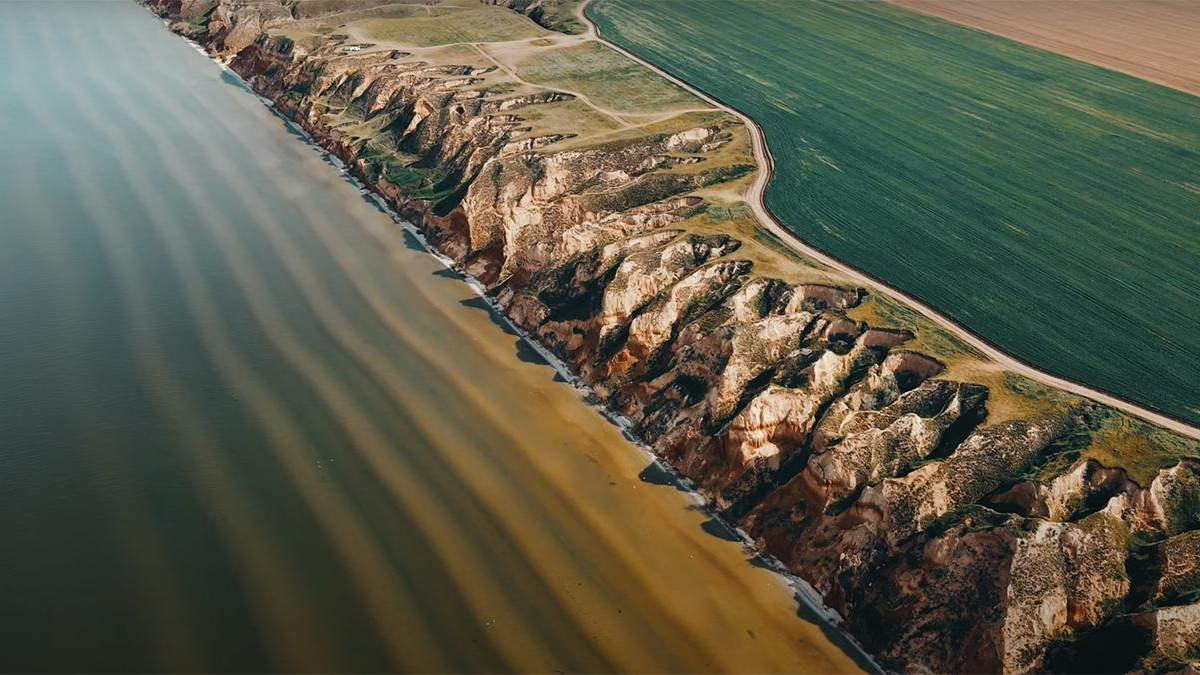 Усі перлини Херсонщини в 1 відео: найкращі локації з висоти польоту