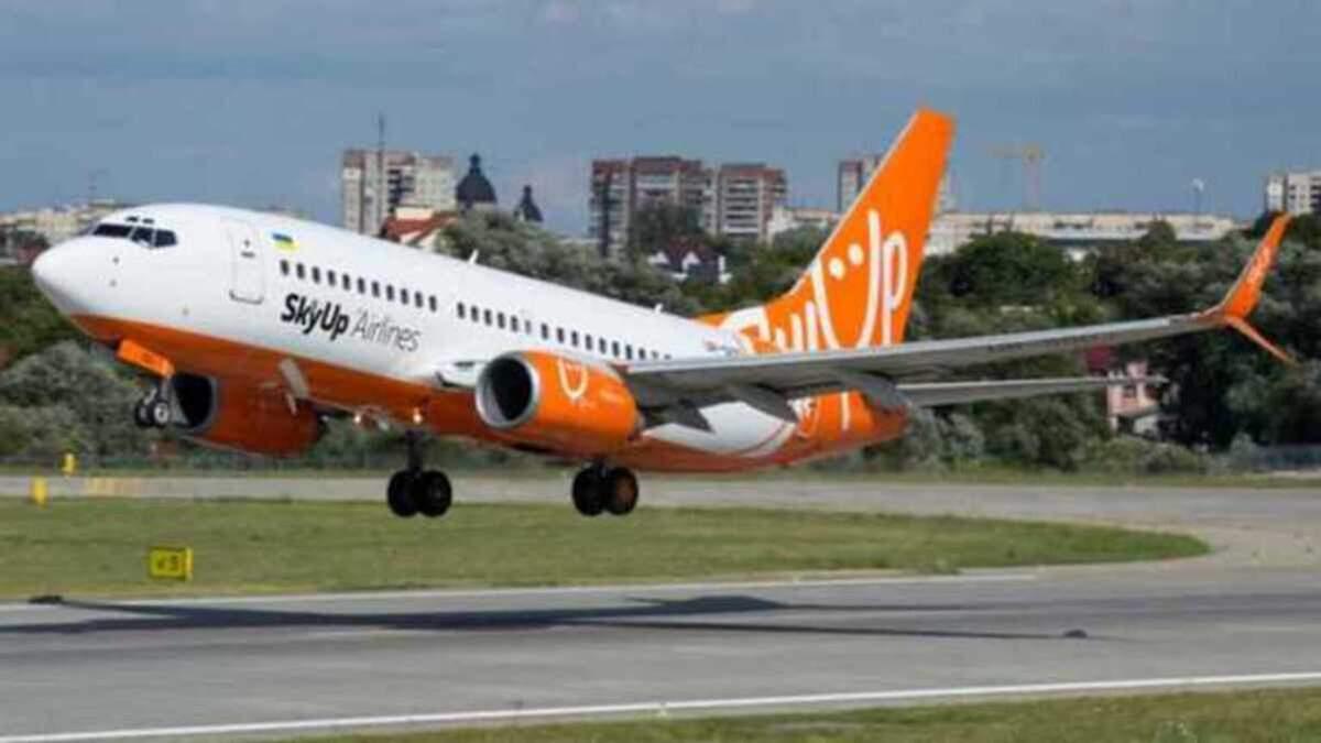 SkyUp в серпні літатиме з Києва до Франції