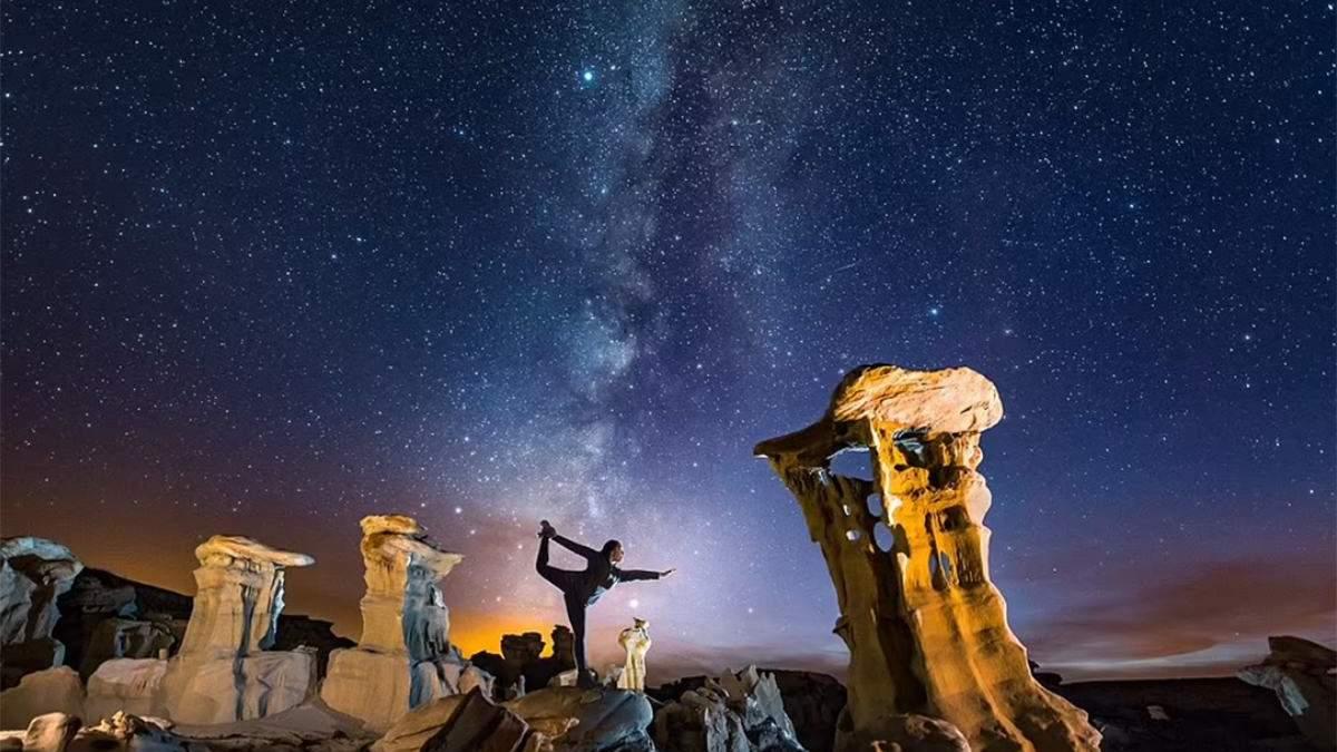 Небо від Ірану до Каліфорнії: неймовірні знімки Чумацького шляху