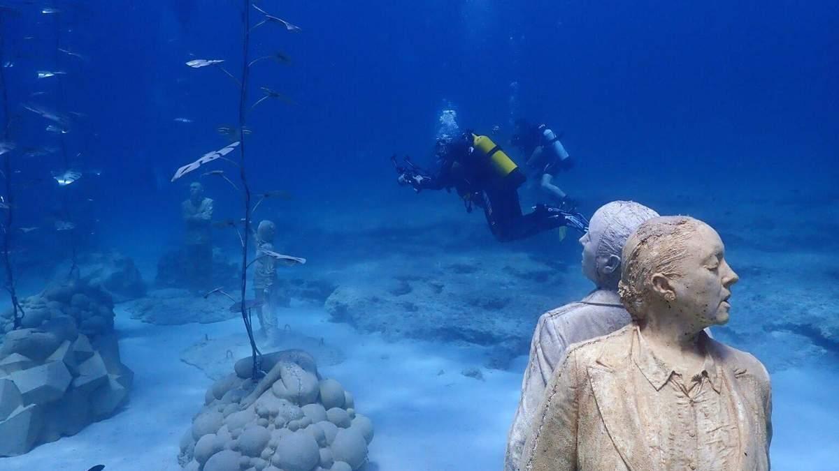 На Кіпрі відкрили підводний музей: чому його варто відвідати