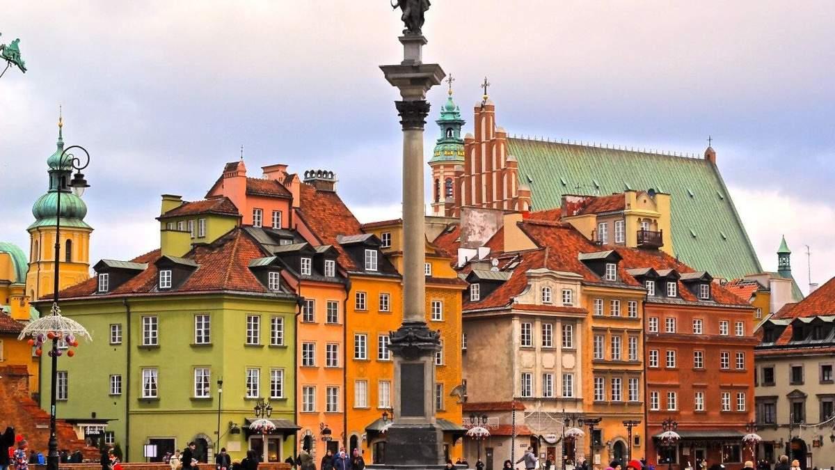 Варшава 2021 (Польща): туристичний гайд по місту