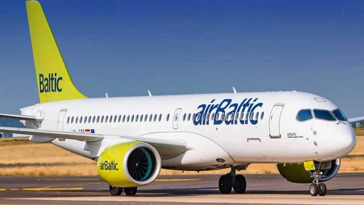 Авиакомпания airBaltic устроила распродажу авиабилетов