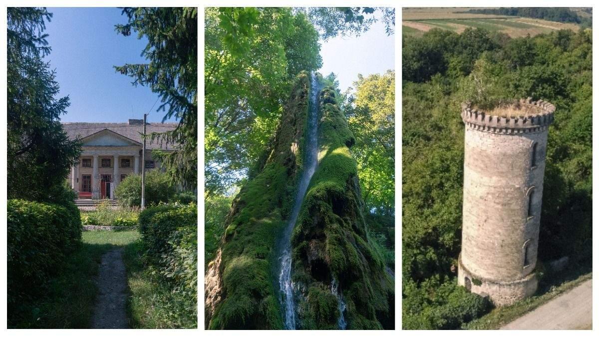 """Подорож до Подільських Товтр: палац Орловських, Малієвецький водоспад й """"середньовічна"""" вежа - Travel"""