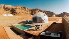 Гламурний кемпінг у пустелі: в ОАЕ відкрили перший комфортабельний готель для екотуристів