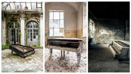 Фотограф і піаніст 10 років шукав у Європі покинуті фортепіано: 20 унікальних фото