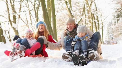 Як влаштувати зимове свято для дітей: ідеї спільного відпочинку
