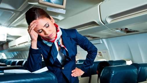 Очевидно, что не высоты: стюардесса рассказала, чего больше всего боятся бортпроводницы