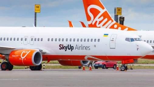 SkyUp отменил рейсы по 8 маршрутам из Киева в Европу: куда лоукостер не будут летать до июля