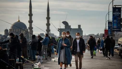 Туреччина посилила локдаун: тепер обмежили ще й покупки в магазинах